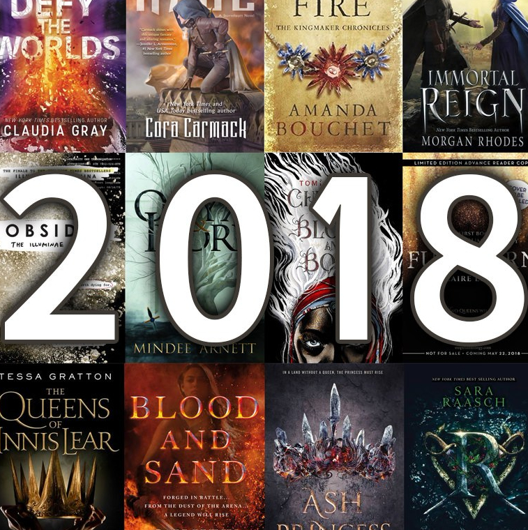 Books I want(I actually need them as much as I need air) in 2018